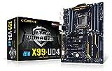 Gigabyte GA-X99-UD4 Mainboard Sockel LGA 2011-13 (ATX, Intel X99, 8X DDR4-Speicher, 10x SATA III, 6X USB 3.0)