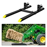 Clamp on Pallet Forks 60', 1500 lb Heavy Duty...
