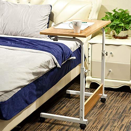Home Beistelltische Laptop Computer Ständer Tragbarer Schreibtisch Höhenverstellbare Studie Mobiler Nachttisch, BOSS LV, b