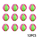 12PCS Laundry Ball Pet Hair Remover-Reusable Plastic Washer and Dryer Ball Magic Clothes