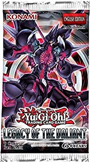 Konami YuGiOh Legacy of the Valiant Booster Pack