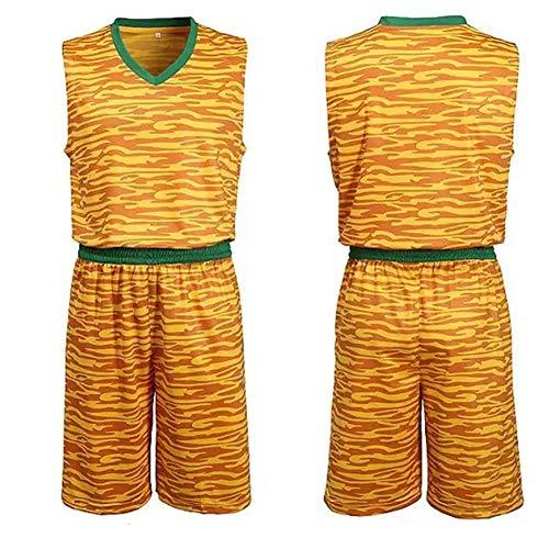 Camiseta uniforme de baloncesto Camiseta deportiva uniforme de baloncesto uniforme de entrenamiento Original estudiante cómodo y simple multifuncional regalo ropa deportiva delgada Ajuste de moda, tra