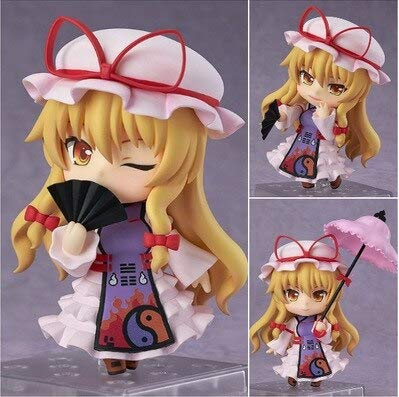 Yvonnezhang Nendoroid 442 Anime Touhou Project Yakumo Yukari PVC Acton Figura Modelo Colección Juguete 4