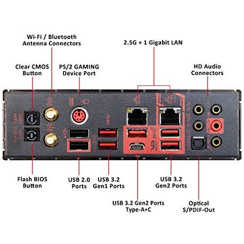 MSI MEG X570 ACE Motherboard (AMD AM4, DDR4, PCIe 4.0, SATA 6Gb/s, M.2, USB 3.2 Gen 2, AX Wi-Fi 6, 2.5G LAN, ATX)