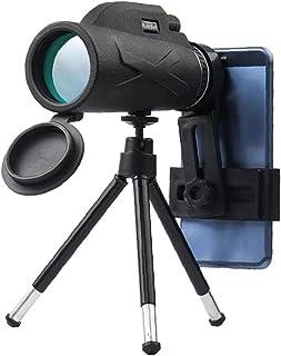 Telefoon cameralenzen Monoculaire Telescope Kit HD Monocular Phone Camera Zoom Lens Statief Smartphon Telescope Zwart Mult...