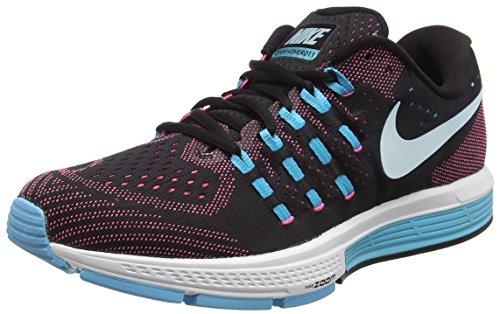 Nike Wmns Air Zoom Vomero 11, Zapatillas de Running para Mujer, Negro (Black/GLCR Bl-Pnk Blst-GMM Bl), 35 1/2 EU