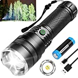 BERCOL LED Rechargeable Flashlights,...