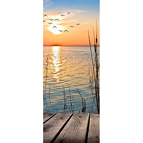 Textil-Banner Sonnenuntergang am See (Displaybanner) 100{deaf1f9e2d3ed2f739e507f8150cd9c340f65a3f38cbad1a21d130747e9d0f36} Polyester Motivbanner