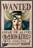 One Piece Mr.2 Bon Kurei Wanted Poster Puzzle 150 Piece by Ensky