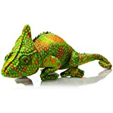 HollyHOME Plush Chameleon Stuffed Animals Large Realistic Chameleon Lizard Plush Toy Gifts for Kids 27 Inch Multicolor
