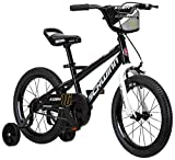 Schwinn Koen Boys Bike for Toddlers and Kids, 16-Inch Wheels, Black