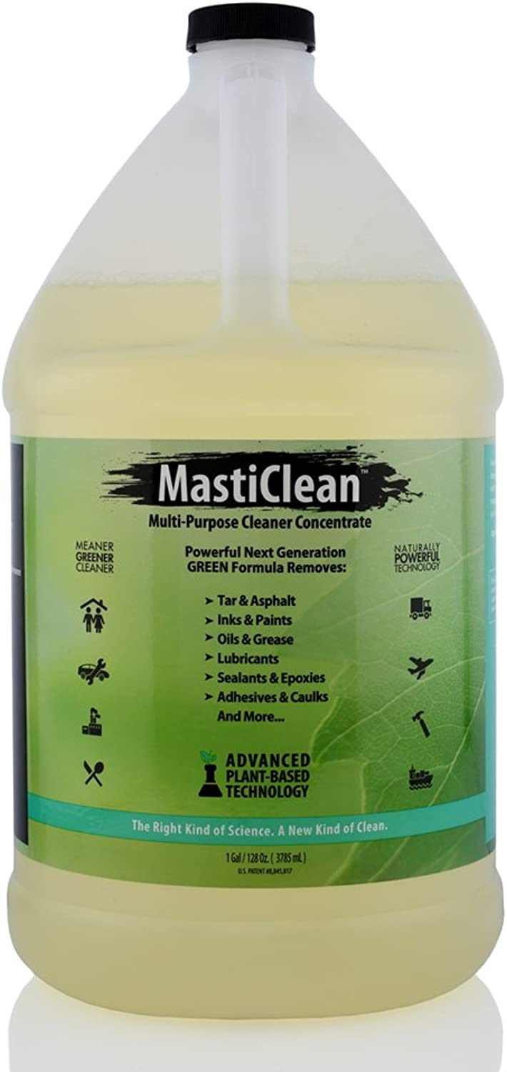 MastiClean GW128 Multi-Purpose Non-Toxic Green Cleaner, 1 gal RTU, 128 fl. oz. (Pack of 4)