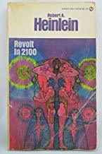 Rare - Robert Heinlein REVOLT IN 2100 W7234 Paperback 1954