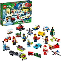 LEGO City Advent Calendar 60268 Playset, Includes 6 City Adventures TV Series Characters, Miniature Builds, City Play...