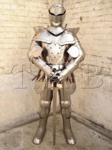 NauticalMart New sales Wearable Medieval San Diego Mall European Knight Full Suit Armo of