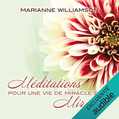 『Méditations pour une vie de miracle en miracle』のカバーアート