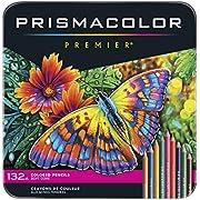 PRISMACOLOR PREMIER Pencil, Colored Pencils, Box of 132, Assorted Colours (4484)