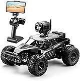 Moerc 1:16 Proporcional RC Car 4WD Off-Road Control Remoto Control 2.4GHz 20km / h Vehículo de control remoto de alta velocidad con cámara HD y modo de control dual Adecuado para niños y adultos Regal