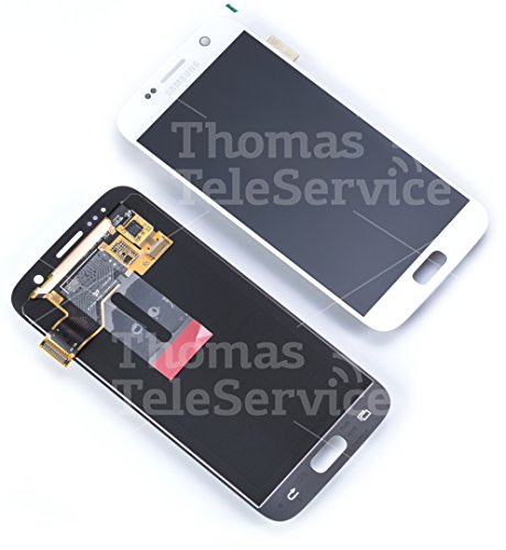 Samsung Galaxy S7 Display-Modul + Digitizer SM-G930F weiss/white GH97-18523D