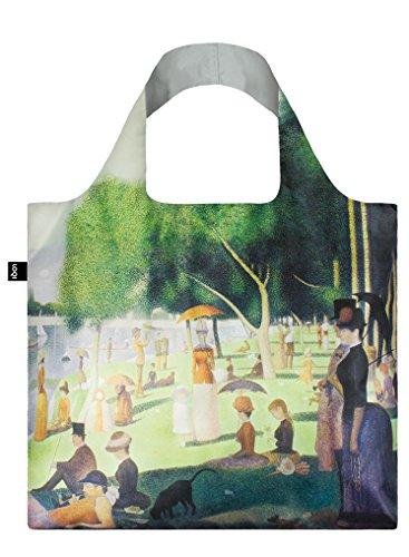 LOQI George Seurat A Sunday on The Island, 1884-86 Bag - Einkaufstasche