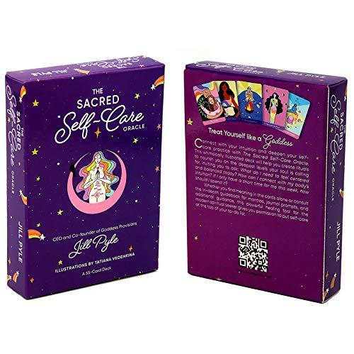 Tarot Card, Familienfeiern, Tischspiele Für Jugendliche,Tägliches Hexenorakel, Brettspiele (Color:EIN,Size:7.2×10.3CM)