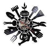 Reloj De Pared Five O'Clock Only 5 Watch Reloj de Pared Beer Time Disco de Vinilo Reloj de Pared Moderno Colgante de Pared Decoración para el hogar Regalo de Amante de la Cerveza (30cm)