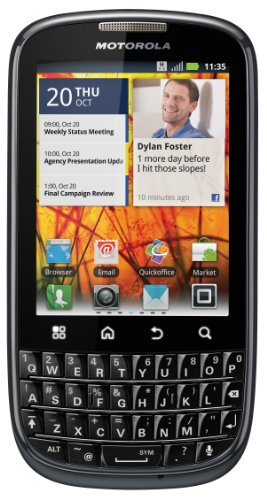 Motorola MB632 Android Unlocked GSM Phone (Black)