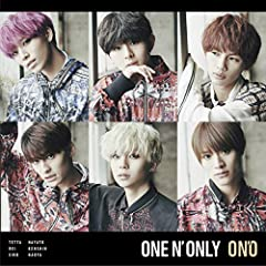 ONE N' ONLY「Only One For Me」のジャケット画像