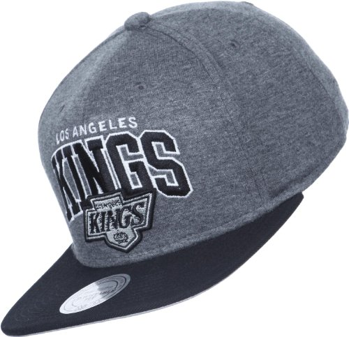 Mitchell & Ness - Casquette Snapback Homme Los Angeles Kings Team Arch Jersey
