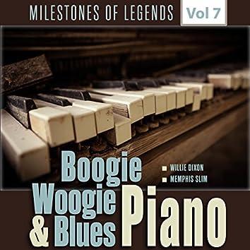 Milestones of Legends - Boogie Woogie & Blues Piano, Vol. 7
