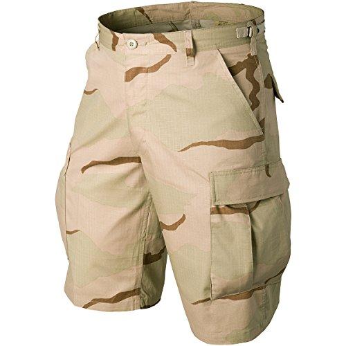 Helikon Original BDU Shorts Baumwolle Ripstop 3-Color Desert Größe S