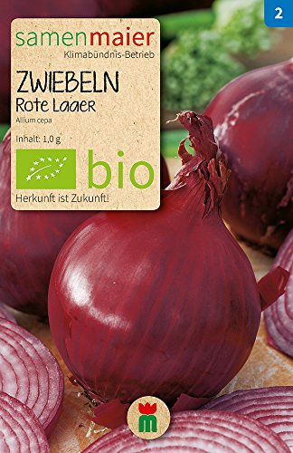 Samen Maier 778 Zwiebel Rote Laaer (Bio-Zwiebelsamen)