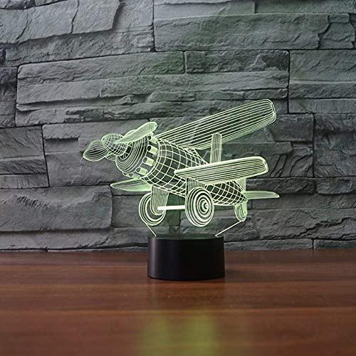 Lámpara De Ilusión 3D Luz De Noche Led Pavo Real Extendiendo Su Cola Peafchouette Con 7 Colores Claros Para La Decoración Del Hogar Visualización Óptica Increíble