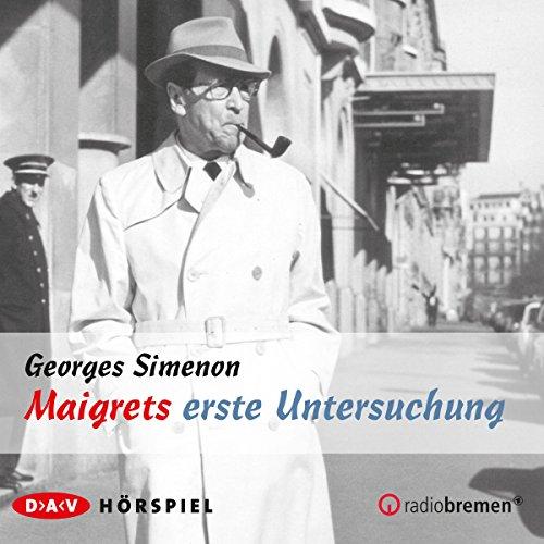 Maigrets erste Untersuchung audiobook cover art