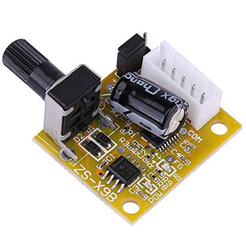 ASHATA DC Brushless Motor Controller, DC 5V-15V 15W BLDC 3-Phasen Brushless Motor Treiber Sensorless Speed Controller Motor Speed Controller