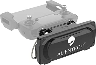 ALIENTECH Pro 5.8G Antenna Signal Booster Range Extender for DJI Mavic 2 Pro / 2 Zoom/Air/Spark (PRO5.8G Booster, Black, with QMA-IPX 100mm Coaxial Cables)