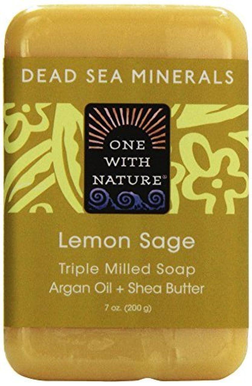集団的リンスニュージーランドDead Sea Mineral Lemon Verbena Soap - 7 oz by One With Nature