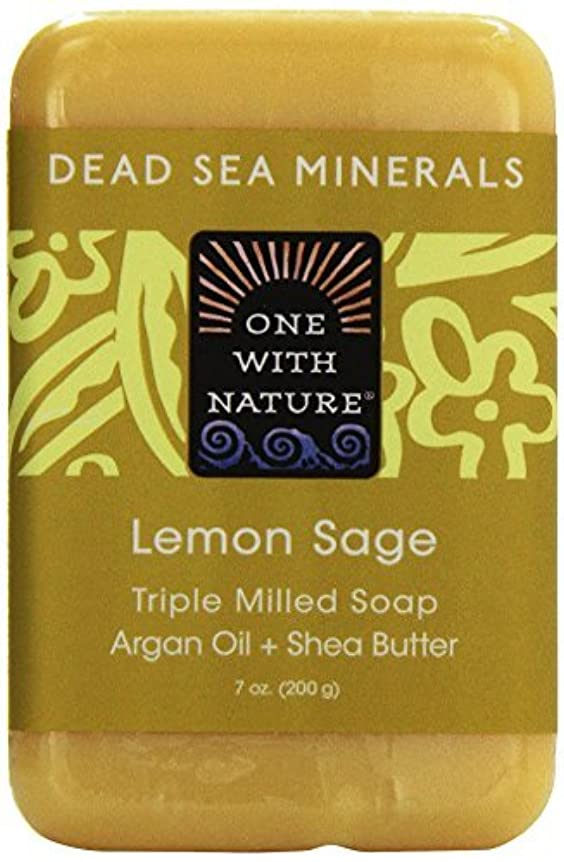 ロシア論争の的誕生Dead Sea Mineral Lemon Verbena Soap - 7 oz by One With Nature