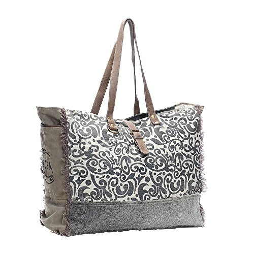 Myra Bag Floral Upcycled Canvas Cowhide Leather Travel Bag S 0999 Travel Totes Find here travel bags, travelling bags manufacturers, suppliers & exporters in india. myra bag floral upcycled canvas