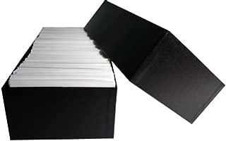 Glassine Envelope Storage Box for #6 Envelopes - Holds Over 1,000 Glassine Envelopes