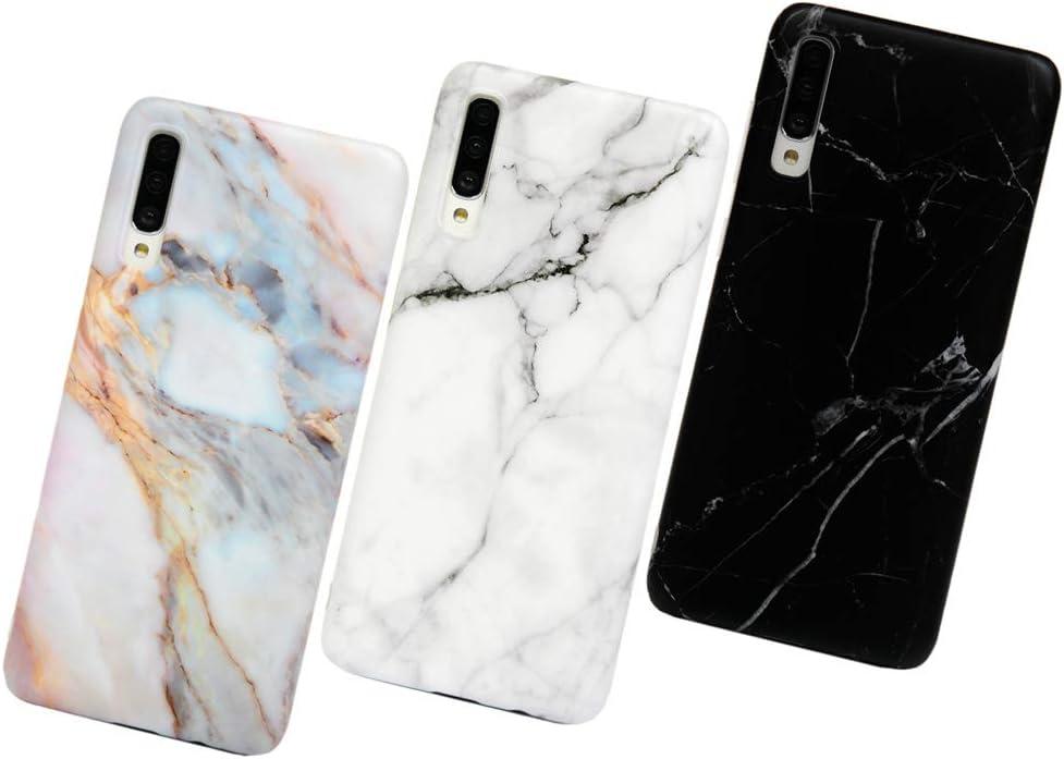 MUSESHOP Carcasa para Samsung Galaxy A70 Funda Mármol, Carcasa Silicona TPU Flexible Suave Ultra Delgado Mate Case de IMD Marble para Samsung A70: Amazon.es: Electrónica