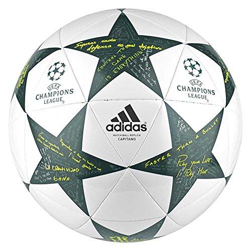 adidas Finale16 Cap Balón de fútbol, Hombre, Blanco, 5