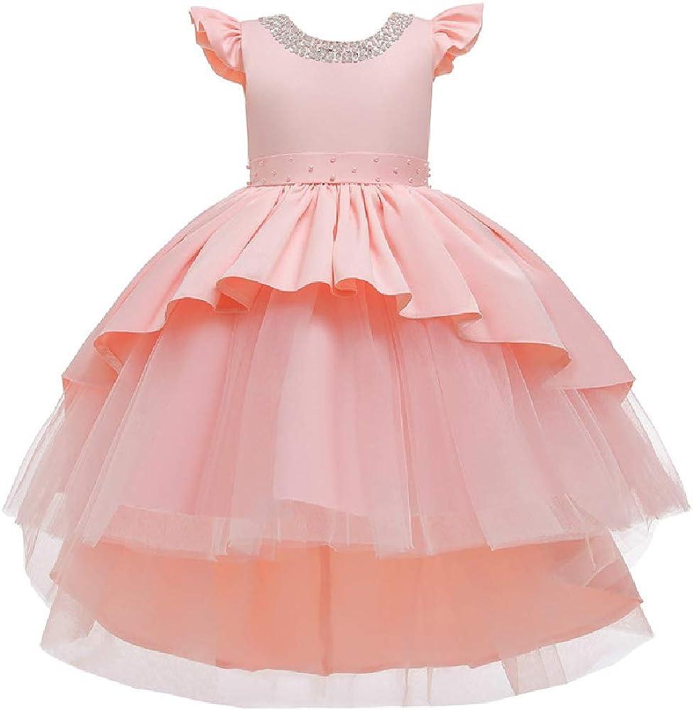 Quenny Children's Wedding Princess San Antonio Mall Sequined Girls' Dress Omaha Mall Tailing