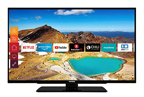 Telefunken XU50G521 127 cm (50 Zoll) Fernseher (4K Ultra HD, HDR 10, Triple-Tuner, Smart TV, Prime Video)