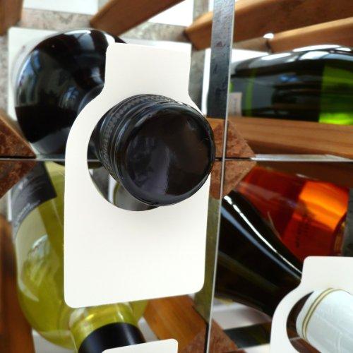 Vinology TAG100AD - Botellero, Color Blanco