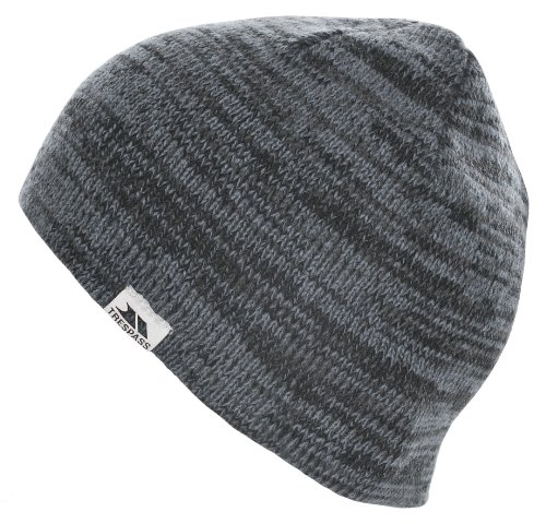Trespass Aneth, Flint, Knitted Hat for Men, Grey