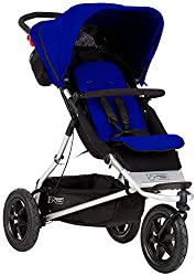Inline Double Stroller with Second Seat