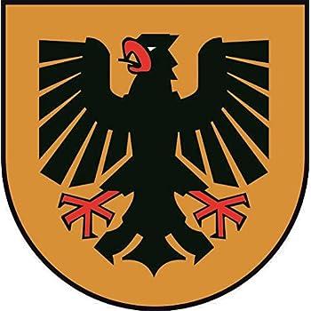 U24 Aufkleber Dortmund Wappen Autoaufkleber Sticker Konturschnitt Auto