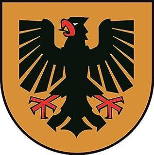 U24 Aufkleber Dortmund Wappen Autoaufkleber Sticker Konturschnitt