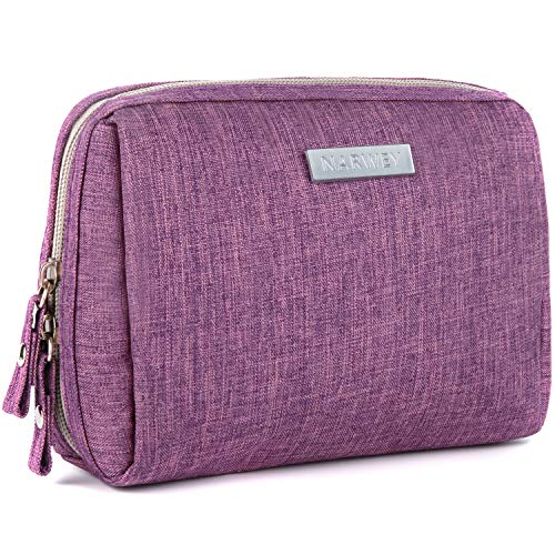 Small Makeup Bag for Purse Travel Makeup Pouch Mini Cosmetic Bag for Women Girls